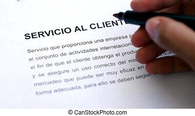Circling Customer Service