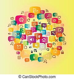 Circlr media network icon