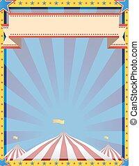 circo, fundo, vertical