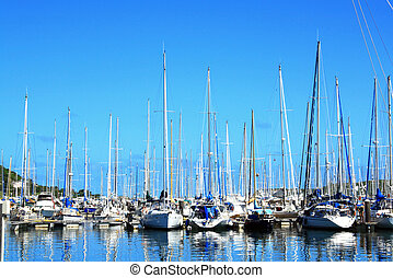 circolo yacht, a, nuova caledonia