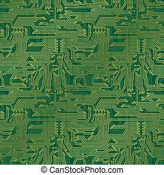 Circuit Board Background - Electronic circuit board....