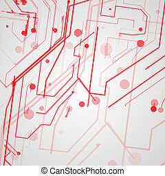 Circuit board background