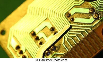 Circuit board - Close up of an electronic circuit board