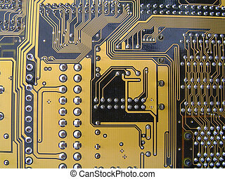 Circuit Board - Computer Motherboard