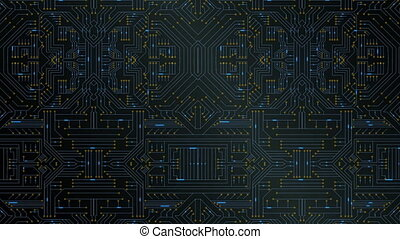Circuit board - Digitally generated circuit board