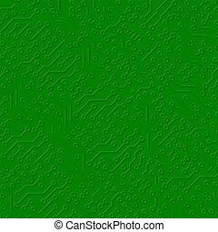Circuit board electronic texture