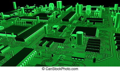 Circuit board flight