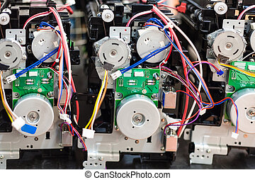 circuit boards on cartridges of new printers