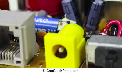 Circuit Boards with Electronic Components