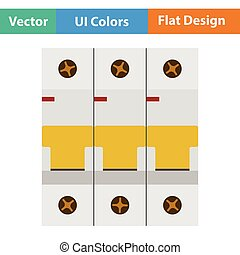 Circuit breaker icon