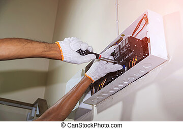 circuit breaker to prevent power supply