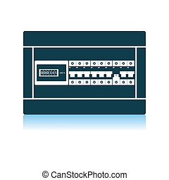 Circuit Breakers Box Icon
