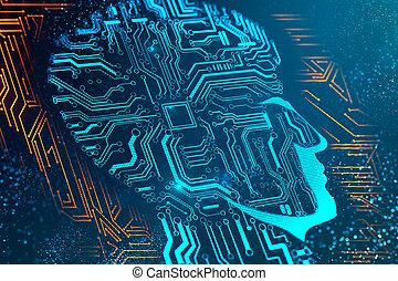 Circuit head backdrop