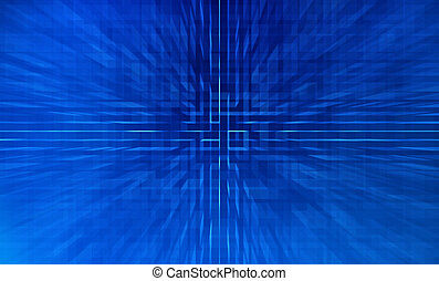 circuit, model, abstract, board., achtergrond, high-tech, technologie, texture., illustration.