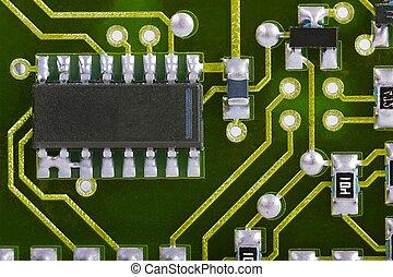 circuit plank, detail