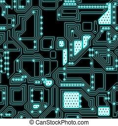 circuitería, seamless