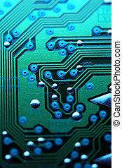 circuito, astratto, asse, fondo, texture.