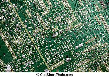 circuito impresso, de, a, dispositivo eletrônico