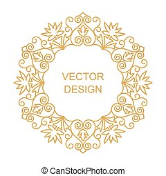 Circular arabic pattern