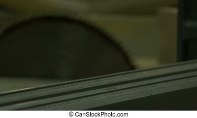 Circular blade disk.