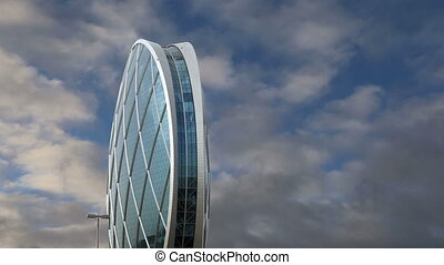 Circular building AlDar, Abu Dhabi