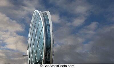 Circular building AlDar, Abu Dhabi,  United Arab Emirates