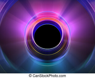 Circular colorful abstract background