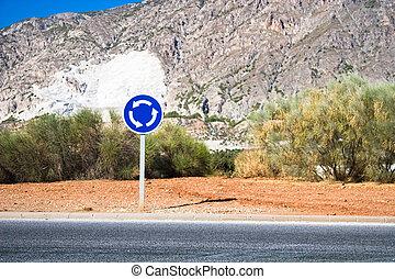 Circular crossroad