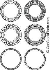 Circular design elements