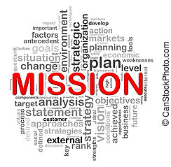 Circular design mission word tags - Illustration of circular...