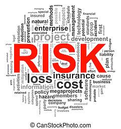 Circular design risk word tags