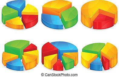 Circular diagram - Color circular diagrams with different ...