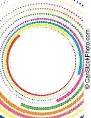 Circular Dot design