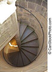 circular downstairs