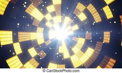 circular flashing segments loopable