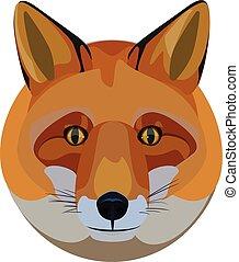 Circular Fox Head