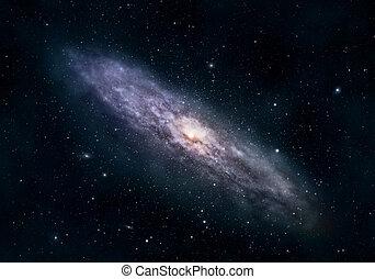 Circular galaxy