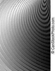 Circular gray background rings