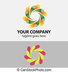 Circular Icon Symbol Logo Element