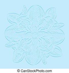 circular lace doily - Background circular openwork doily...