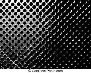circular mesh - High contrast mesh.