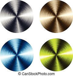 Circular metallic vector plates