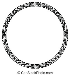 Circular Pattern - A circular pattern in a semi celtic style
