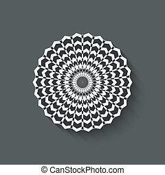 circular pattern design element