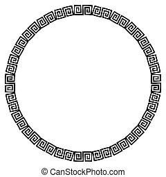 Circular Pattern - A circular pattern in a semi celtic style