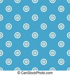 Circular saw disk pattern seamless blue - Circular saw disk ...