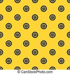 Circular saw disk pattern vector - Circular saw disk pattern...