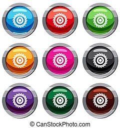 Circular saw disk set 9 collection - Circular saw disk set...