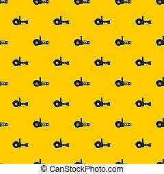 Circular saw pattern