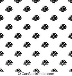 Circular saw pattern seamless